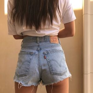 Levi's vintage denim shorts